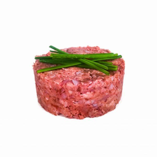 Kalbfleisch mit Knochen (gewolft)
